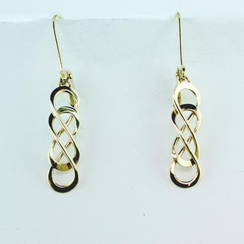 Celtic Knot Dangle Earrings