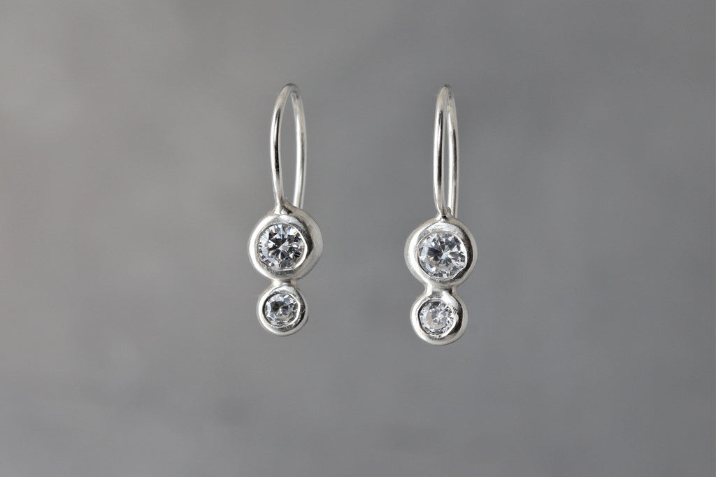 Double Dewdrop Earrings