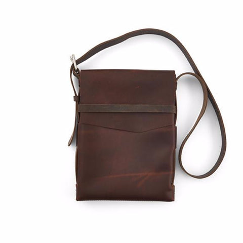 Explorer Plus Leather Satchel - Silverscape Designs