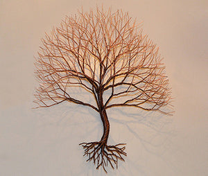 Copper Maple Wall Tree