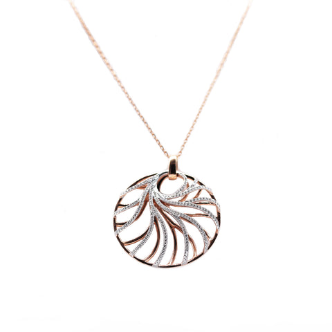 Rose Gold Venus Necklace - Silverscape Designs