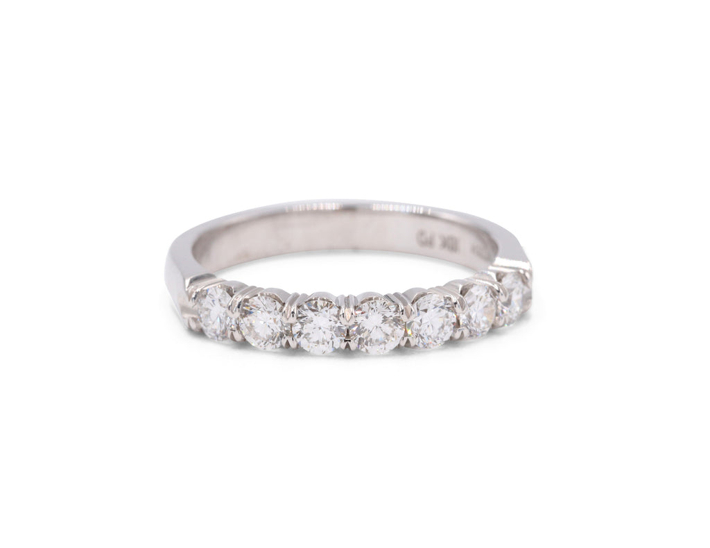 7 Diamond Wedding Band (.75 carat tw) - Silverscape Designs