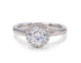Ideal Surroundings Engagement Ring