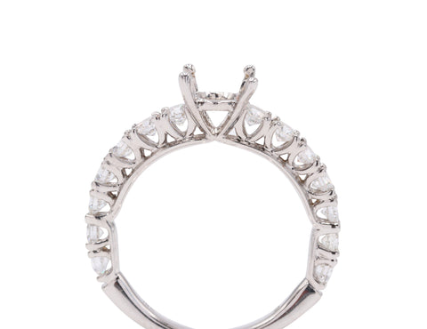 Lazare Classic Mounting (.98 carat side diamonds) - Silverscape Designs