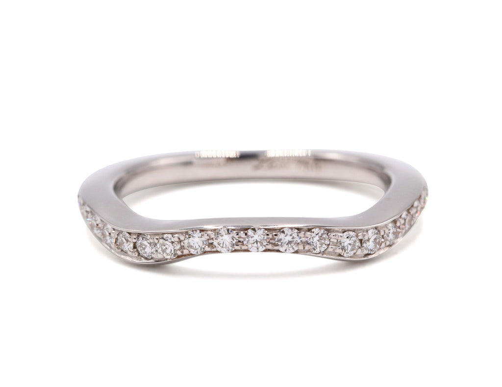 Aurora Wedding Band (9 Diamonds)