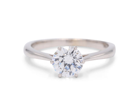 Classico Plain Band Engagement Ring