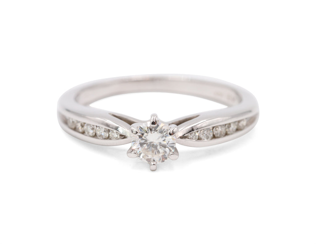 Estate Solitaire Diamond Ring