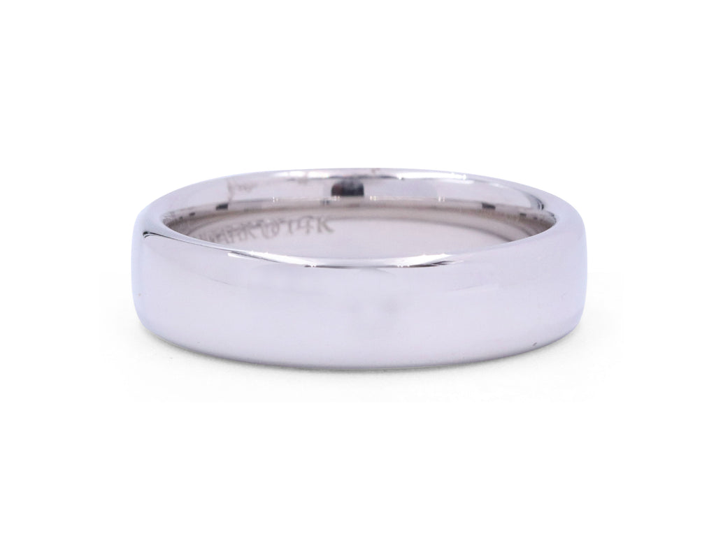 Benchmark Euro 5.5 mm Comfort Men's Band - Silverscape Designs