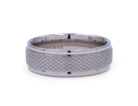 Benchmark 7.5 mm Mesh Center Men's Band