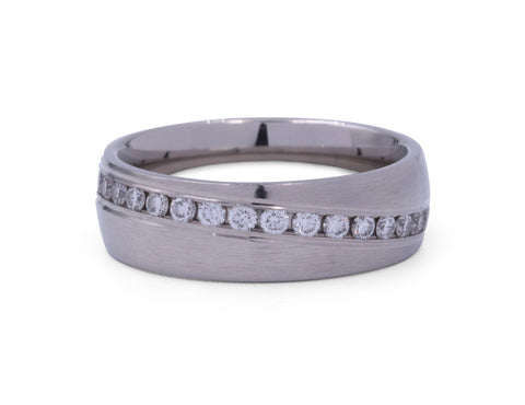 Benchmark 6 mm Diamond Men's Band