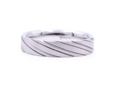 Christian Bauer Twist Men's Band - Silverscape Designs