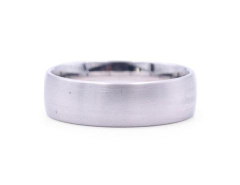 Christian Bauer Matte Men's Band - Silverscape Designs