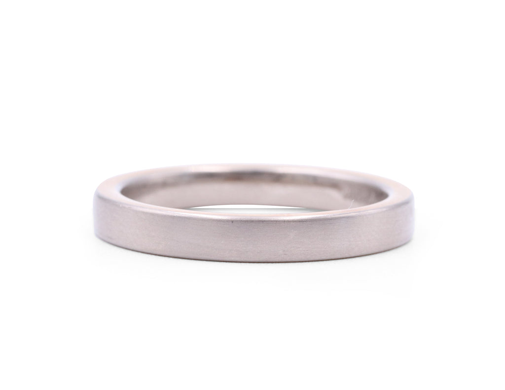 Christian Bauer Thin Matte Men's Band - Silverscape Designs
