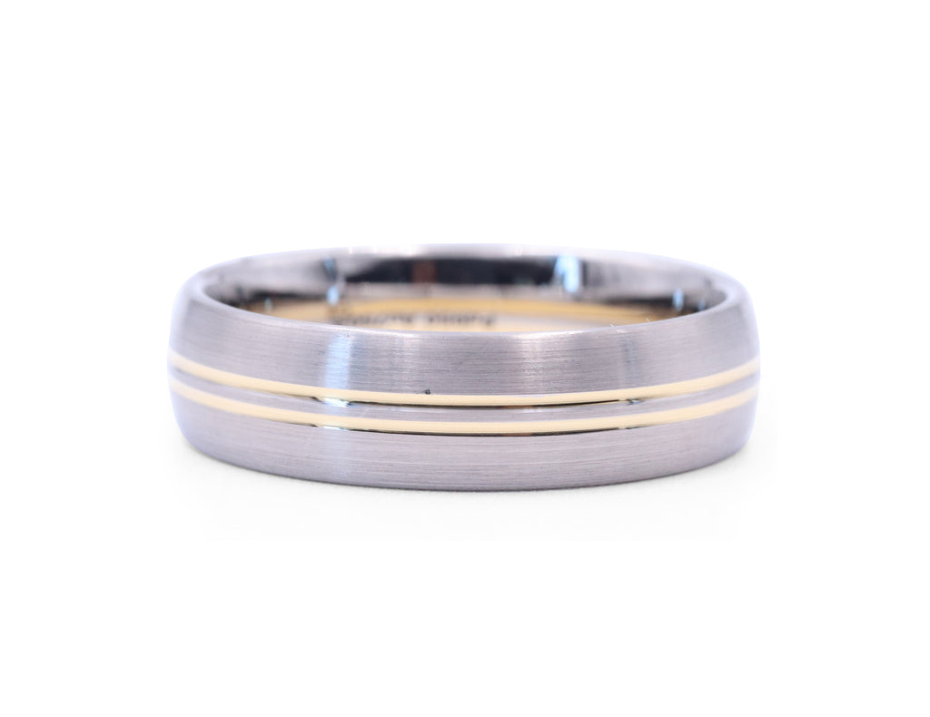 Christian Bauer Double Gold Lining Band - Silverscape Designs