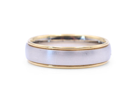 Christian Bauer Gold Rails Men's Band - Silverscape Designs