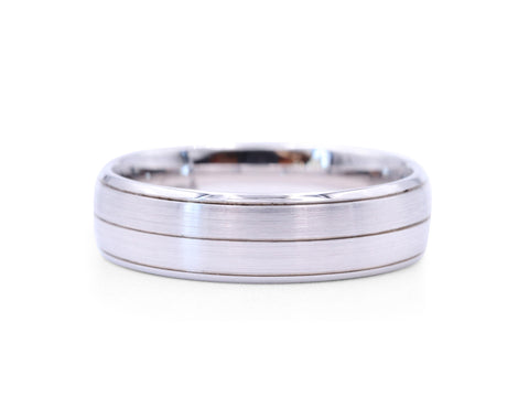 Christian Bauer 6 mm Men's Band - Silverscape Designs