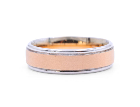Samuel Jewels Rose Gold Center Band
