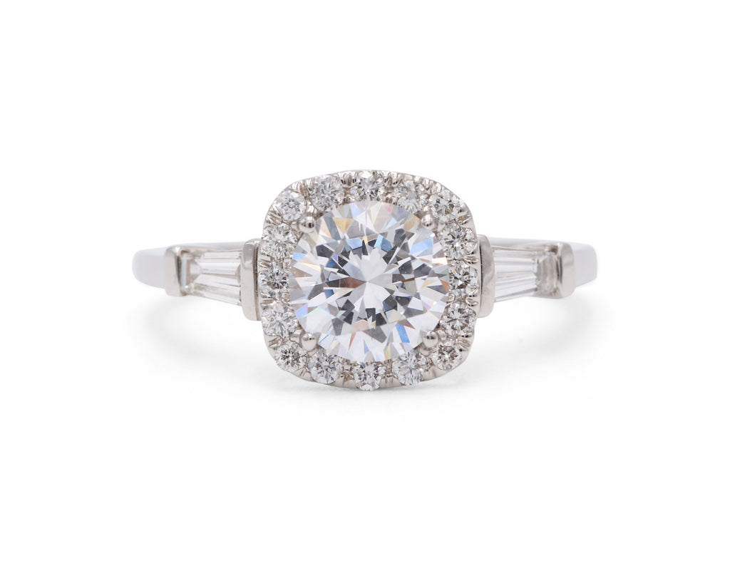 Heirloom Collection Halo Engagement Ring