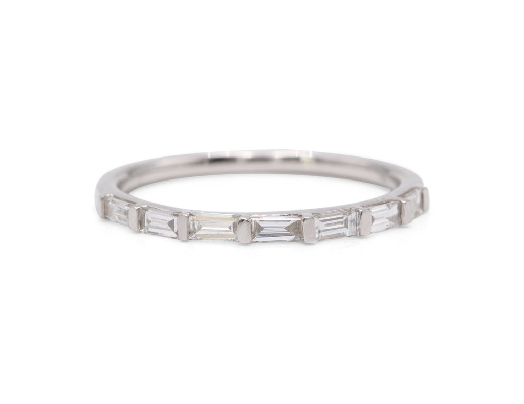 Heirloom Collection Baguette Wedding Band