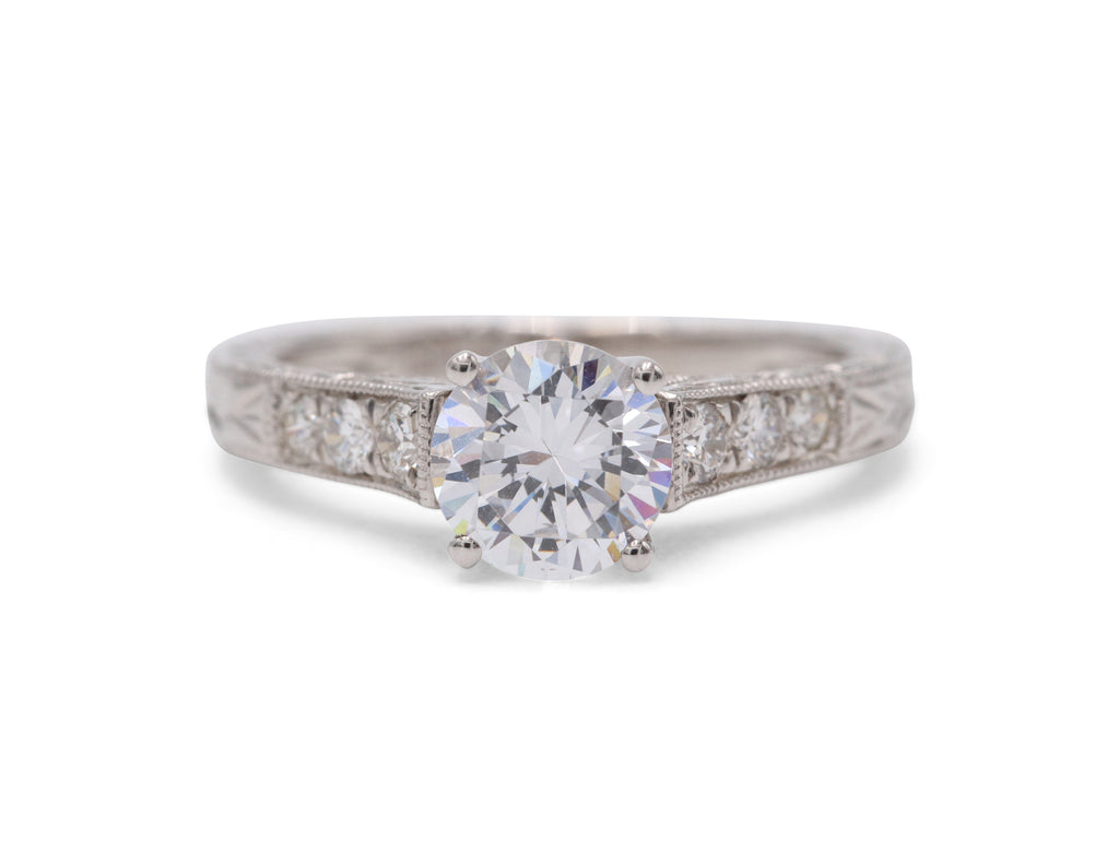 Heirloom Collection Vintage Inspired Engagement Ring