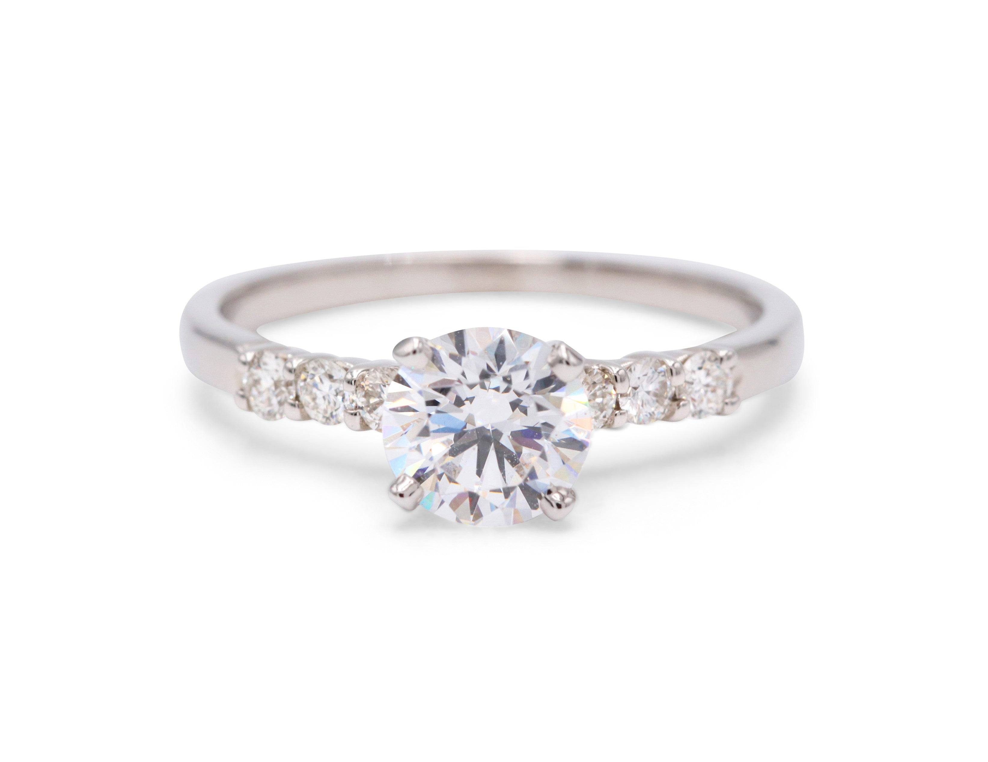 claw h solitaire ring engagement jewellery