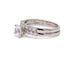 7 Diamond White Gold Wedding Band