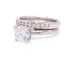 12 Diamond White Gold Wedding Band