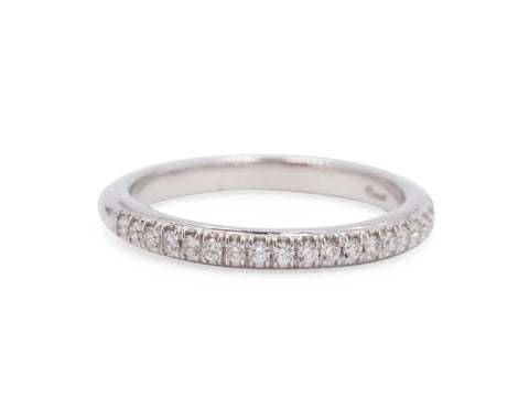 Fishtail Wedding Band (.18 carat)