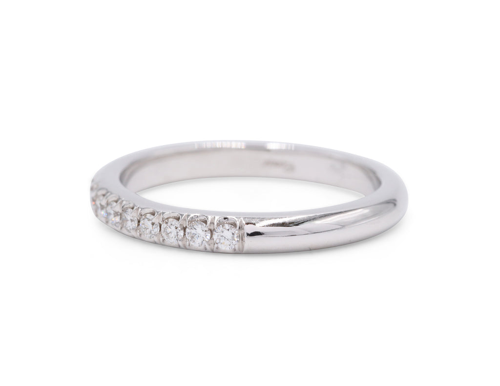 Fishtail Wedding Band (.29 carat)
