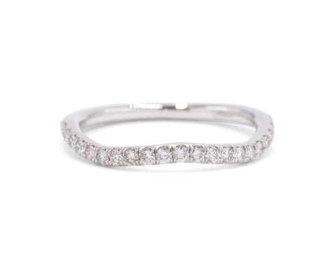 Fishtail Wedding Band (.30 carat)