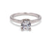 Milgrain Diamond Prong Enagement Ring