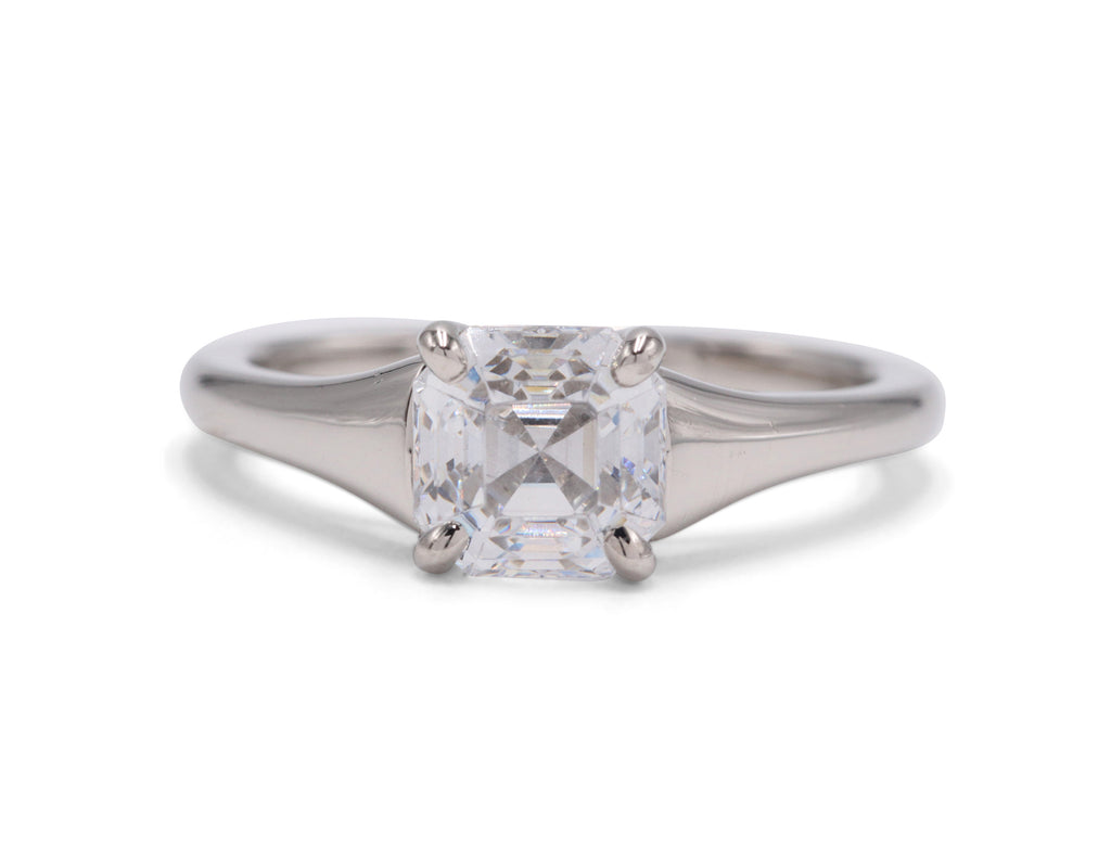 Sculptural Madison Engagement Ring