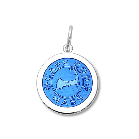 Periwinkle Cape Cod Pendant in Sterling Silver - Silverscape Designs