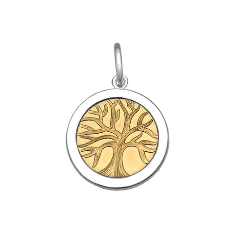 Gold Tree Of Life in Sterling Silver - Silverscape Designs