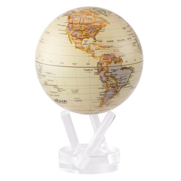 MOVA Antique Beige World Globe