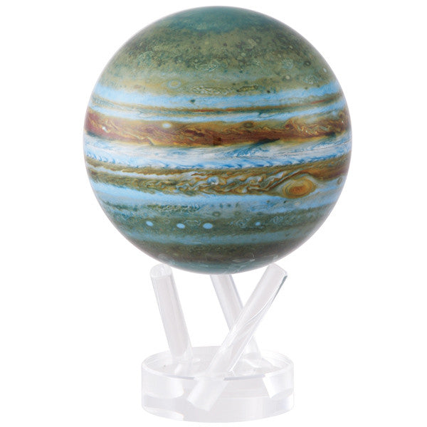 MOVA 4.5 inch Rotating Jupiter Globe with Lucite Stand