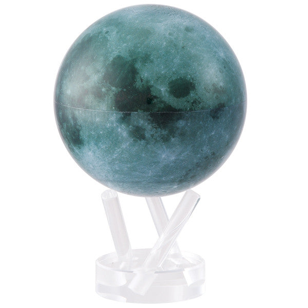 MOVA 4.5 inch Rotating Moon with Lucite Stand