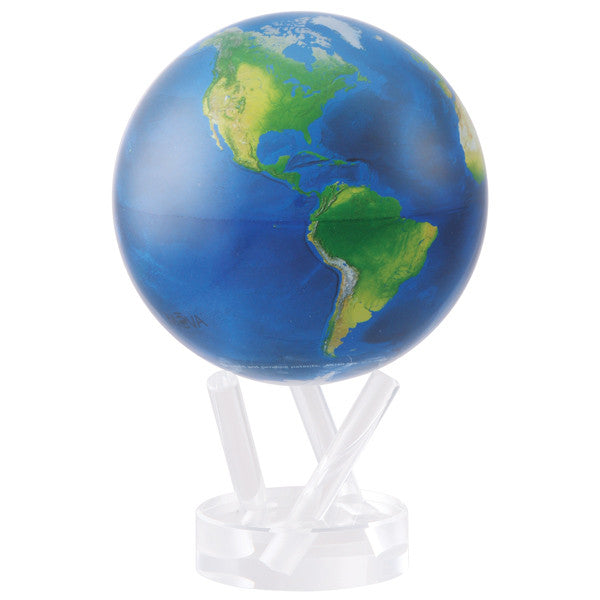 MOVA Natural Earth Globe - Silverscape Designs
