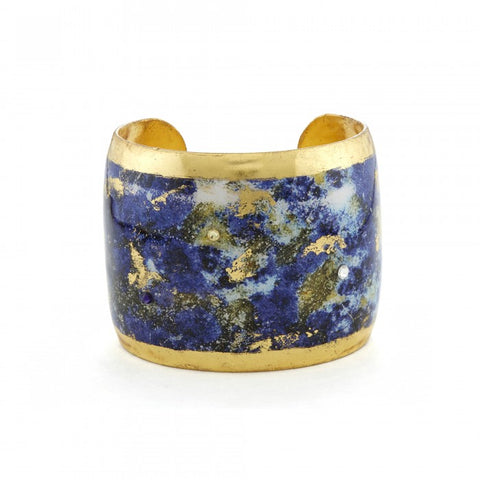 Evocateur Lapis Cuff - Silverscape Designs