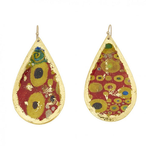 Evocateur Vienna Large Teardrop Earrings