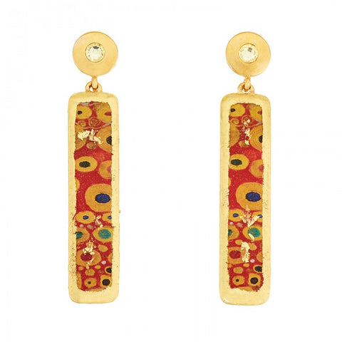 Evocateur Vienna Column Earrings