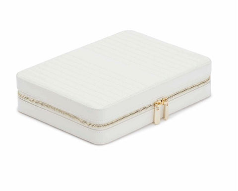 Maria Large Zip Jewelry Case - Silverscape Designs