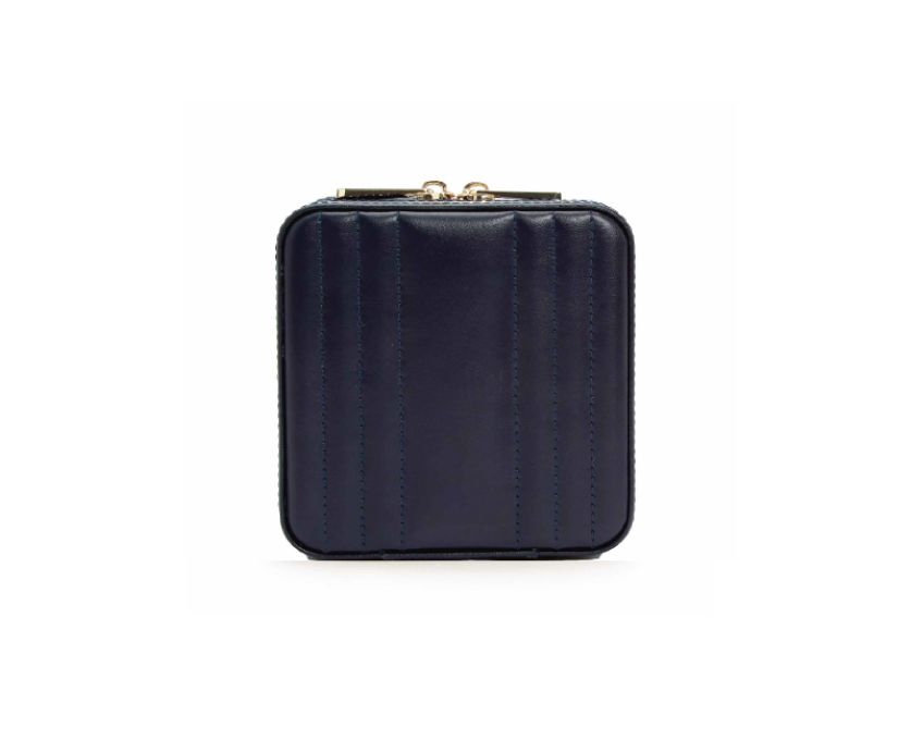 Maria Square Zip Jewelry Case - Silverscape Designs