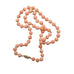 Estate Pink Coral Beaded Necklace with 14 Karat Yellow Gold - Silverscape Designs