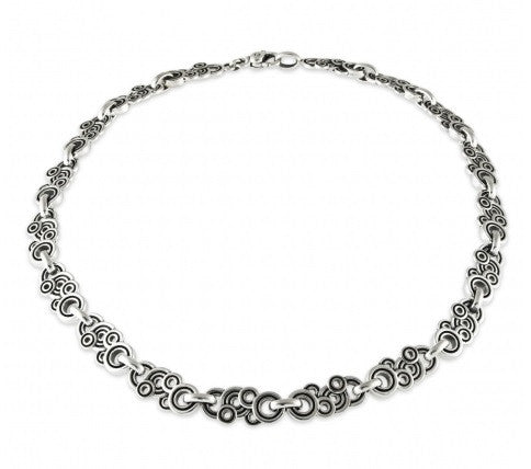 Spiralz Link Necklace - Silverscape Designs