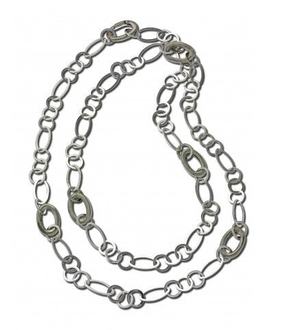 Zina Sterling Silver 36 Inch Combo Chain