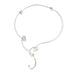 Deborah Richardson Sterling Silver Wire Collar Necklace