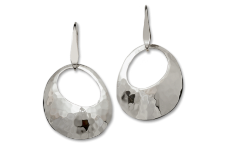 Silver Olive Earrings
