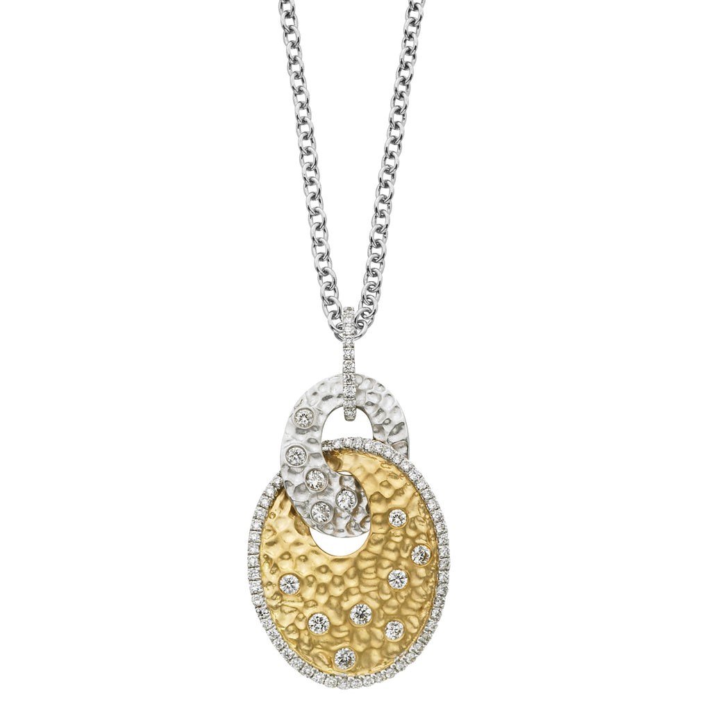 Ashley Boutique Collection Oval Interlock Pendant