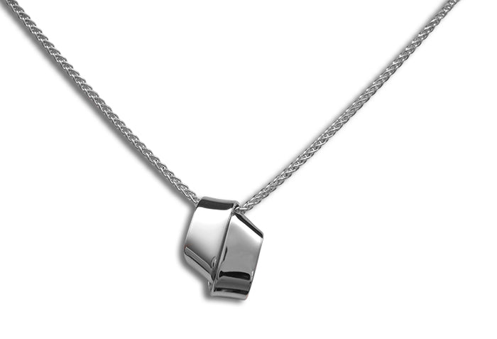 Ed Levin Sterling Silver Love Knot Necklace